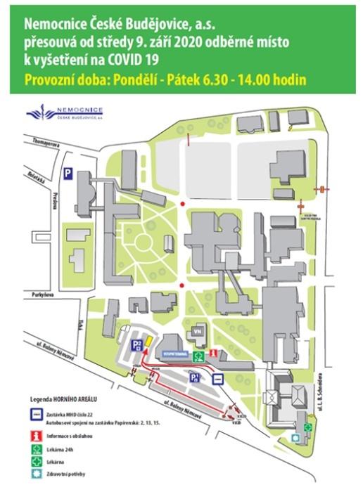 COVID-19 - Nemocnice ČB