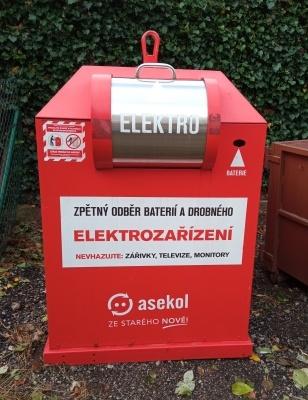 Nádoby na elektroodpad