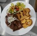 Myslivecký steak