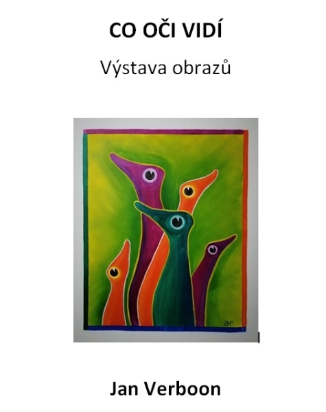 Výstava obrazů - Jan Verboon